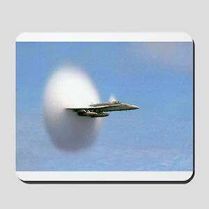 F/A 18 Sonic Boom Mousepad