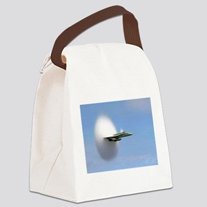 F/A 18 Sonic Boom Canvas Lunch Bag