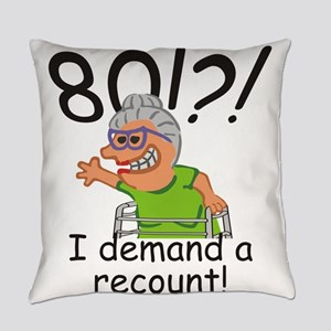 Recount 80th Birthday Funny Old Lady Everyday Pill