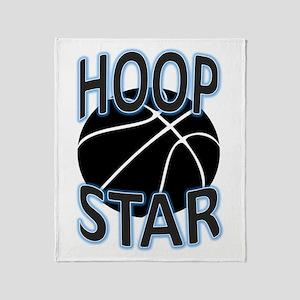 Hoop Star Throw Blanket