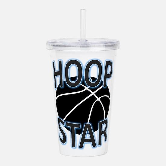 Hoop Star Acrylic Double-wall Tumbler