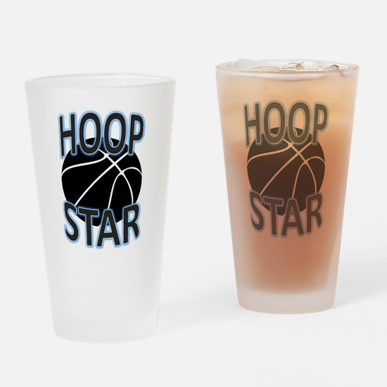 Hoop Star Drinking Glass