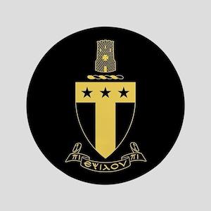 Alpha Tau Omega Crest Button