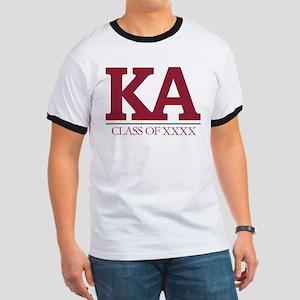Kappa Alpha Initials Class of XXXX Ringer T