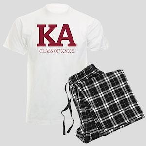 Kappa Alpha Initials Class of Men's Light Pajamas