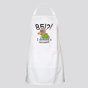 Recount 85th Birthday Funny Old Lady Apron