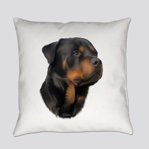 Rottweiler Everyday Pillow