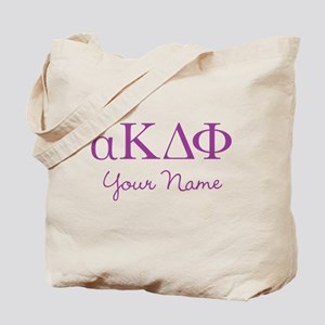 Alpha Kappa Delta Phi Personalized Tote Bag