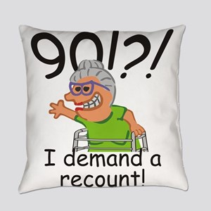 Recount 90th Birthday Funny Old Lady Everyday Pill