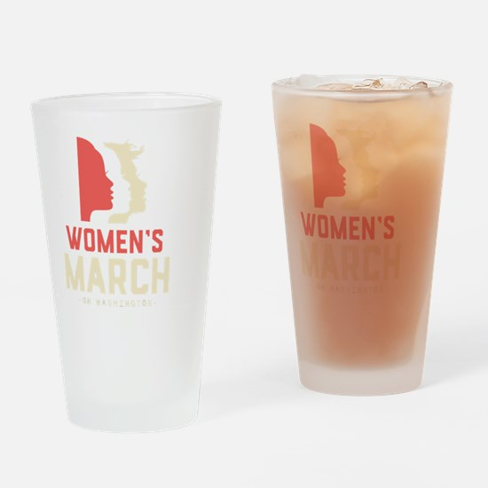 Unique March Drinking Glass