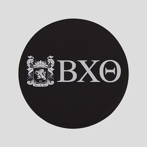Beta Chi Theta Crest Letters Button