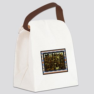 TRIBES Canvas Lunch Bag