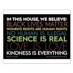 #inthishouse Simple Small Poster