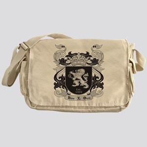 Beta Chi Theta Crest Messenger Bag