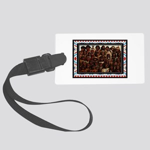 TRIBES Luggage Tag