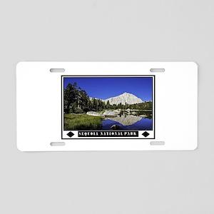SEQUOIA Aluminum License Plate