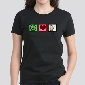 Peace Love Harp T-Shirt