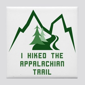Hike the Appalachian Trail Tile Coaster