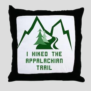Hike the Appalachian Trail Throw Pillow