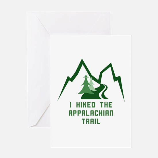 Hike the Appalachian Trail Greeting Cards