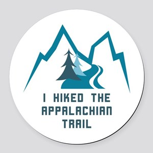 Hike the Appalachian Trail Round Car Magnet