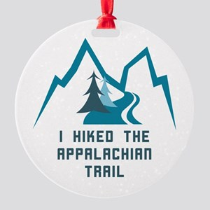 Hike the Appalachian Trail Round Ornament