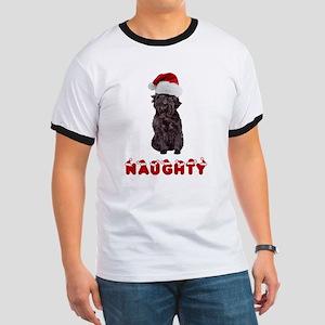 Naughty Affenpinscher Women's Cap Sleeve T-Shirt