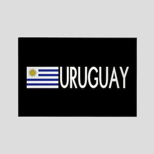 Uruguay: Uruguaya Flag & Uruguay Rectangle Magnet