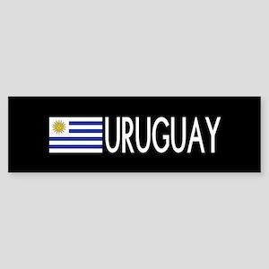 Uruguay: Uruguaya Flag & Uruguay Sticker (Bumper)