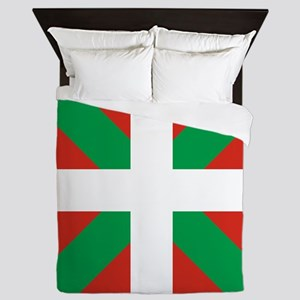 Basque Country: Euskaldun Flag Queen Duvet