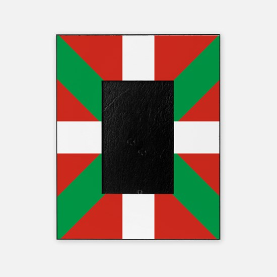 Basque Country: Euskaldun Flag Picture Frame
