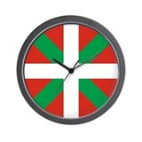 Basque flag Wall Clocks