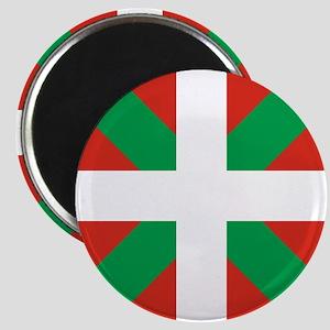 Basque Country: Euskaldun Flag Magnet