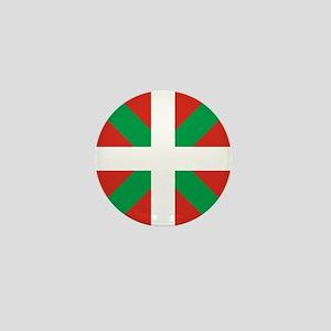 Basque Country: Euskaldun Flag Mini Button