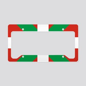 Basque Country: Euskaldun Fla License Plate Holder