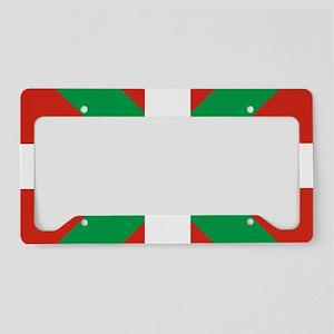 Basque Country: Euskaldun Fla License Plate Holder