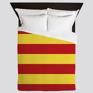Catalunya: Catalan Flag Queen Duvet