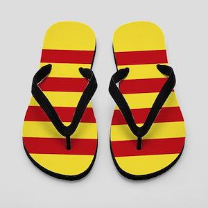 Catalunya: Catalan Flag Flip Flops