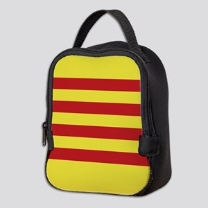 Catalunya: Catalan Flag Neoprene Lunch Bag
