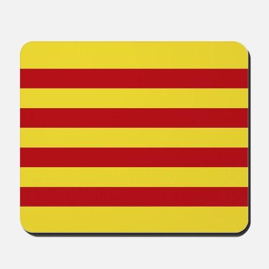 Catalunya: Catalan Flag Mousepad
