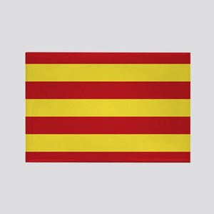 Catalunya: Catalan Flag Rectangle Magnet
