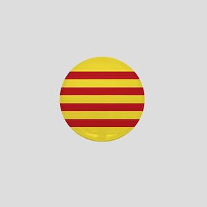 Catalunya: Catalan Flag Mini Button
