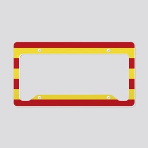 Catalunya: Catalan Flag License Plate Holder