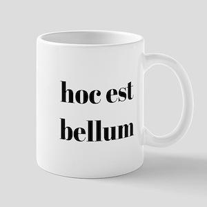 hoc est bellum Mugs