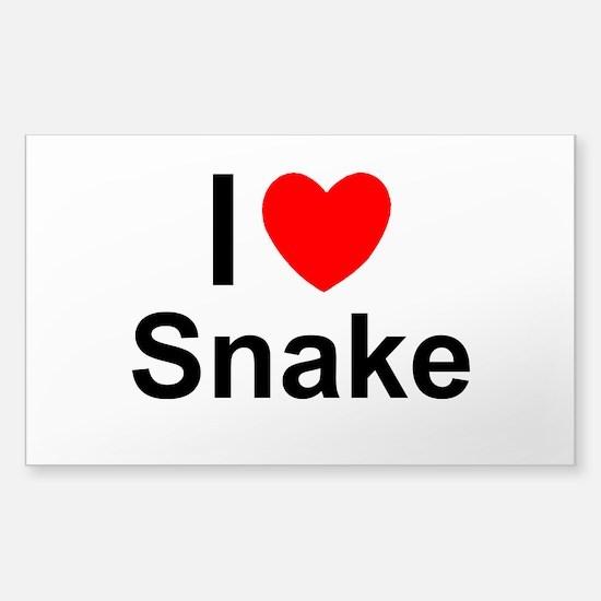 Snake Sticker (Rectangle)