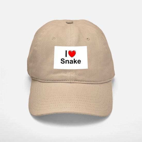 Snake Baseball Baseball Cap