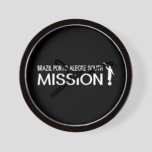 Brazil, Porto Alegre South Mission (Mor Wall Clock