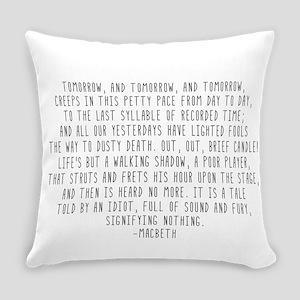 Macbeth Everyday Pillow