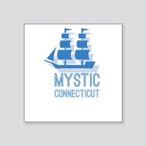 Mystic Connecticut Sticker