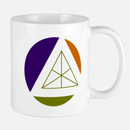 tertiary geometric colors Mugs